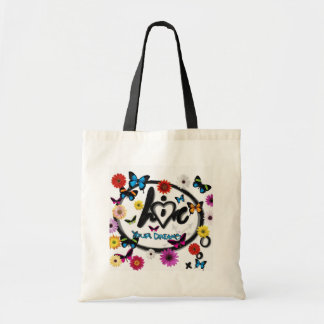 Live and Love Your Dreams Tote Bag
