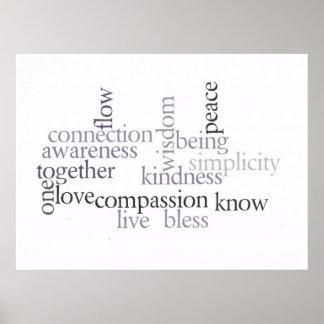 Live Awareness Print