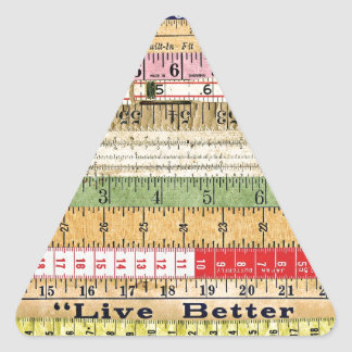 LIVE BETTER RULERS RULES COLORFUL SCRAPBOOKING DIG STICKER