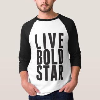 Live Bold Star Men's Tee
