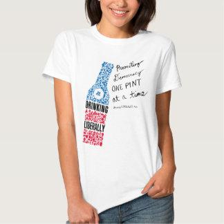 Live Bottle Women's White T-Shirt