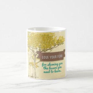 Live Braver Mug - Trees