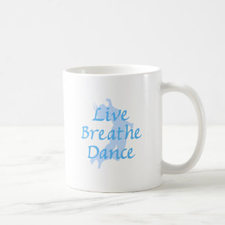 Live Breathe Dance Classic White Coffee Mug