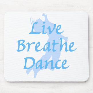 Live Breathe Dance Mouse Pad