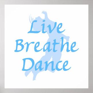 Live Breathe Dance Poster