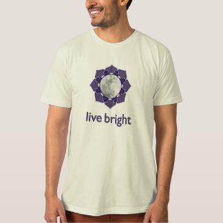 live bright :: mindful moon - Organic American App T-Shirt