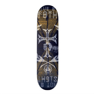 LIVE BY F8TH SKATEBOARD DECK