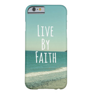 Live by Faith Barely There iPhone 6 Case