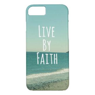 Live by Faith iPhone 7 Case
