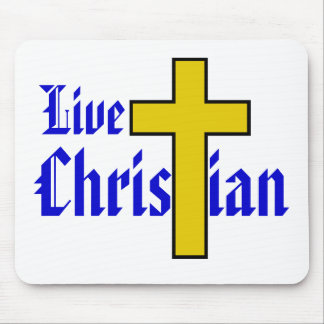 Live Christian Mouse Pads
