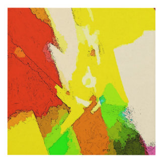 Live Colors Decorative Abstract Composition Panel Wall Art