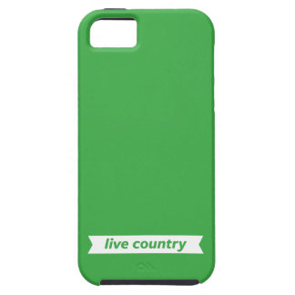 Live Country iPhone SE/5/5s Case
