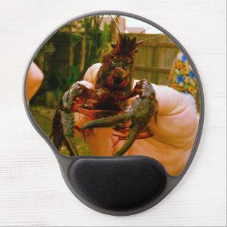 Live Crawfish Food Photo Gel Mouse Pad
