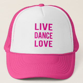 Live Dance Love Hat