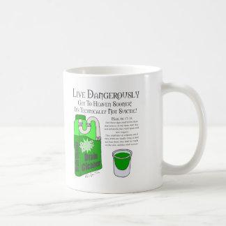 Live Dangerously Coffee Mug