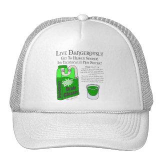 Live Dangerously Trucker Hat