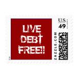 LIVE DEBT FREE!! POSTAGE