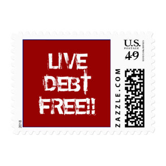 LIVE DEBT FREE!! STAMPS