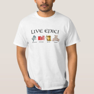 Live Epic with Gaiscioch - By Narco T-Shirt