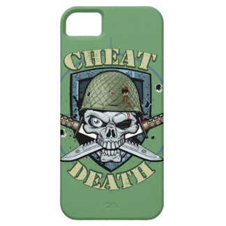 Live Everyday Cheat Death Army iPod Case