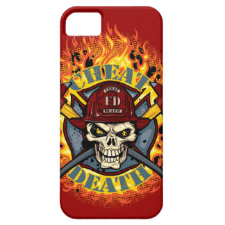 Live Everyday Cheat Death Firefighter iPod Case iPhone 5 Cover