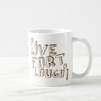 LIVE FART LAUGH MUG