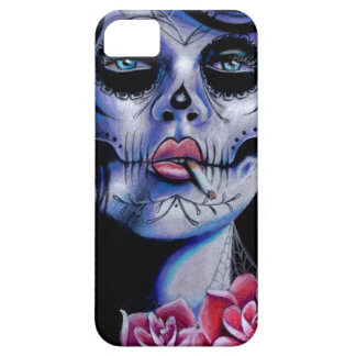 Live Fast Die Young Day of the Dead Portrait iPhone 5 Cases