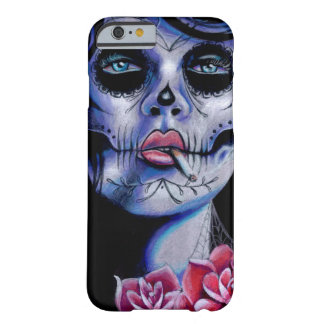 Live Fast Die Young Day of the Dead Portrait iPhone 6 Case