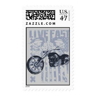 live fast postage
