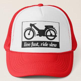 Live Fast, Ride Slow Trucker Hat