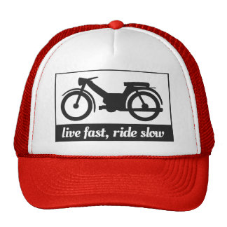 Live Fast, Ride Slow Trucker Hat