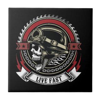 Live Fast Tile