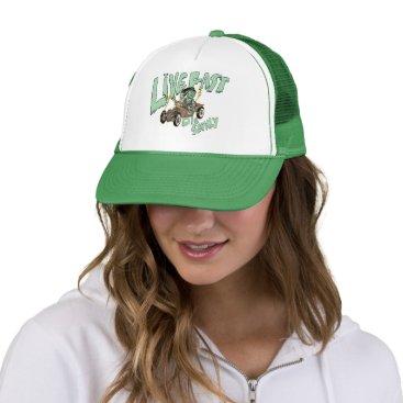 live fast trucker hat