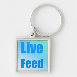 Live Feed Key Chain