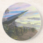 Live Fire at Kahuku by Jim Dietz Drink Coasters