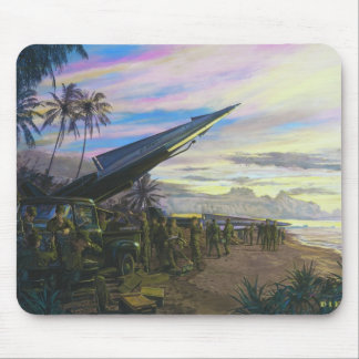 Live Fire at Kahuku by Jim Dietz Mouse Pad
