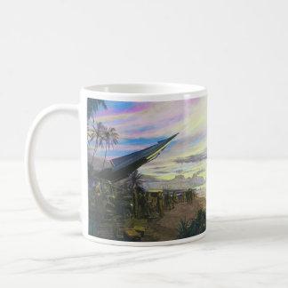 Live Fire at Kahuku by Jim Dietz Classic White Coffee Mug
