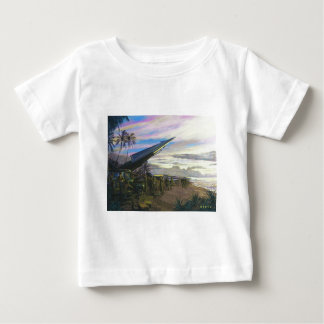Live Fire at Kahuku by Jim Dietz Infant T-shirt