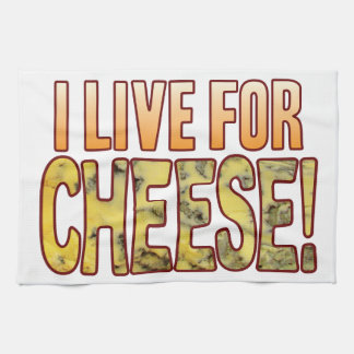 Live For Blue Cheese Hand Towel
