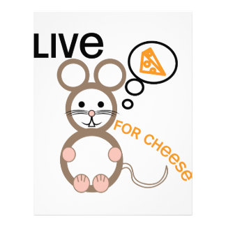 Live For Cheese Letterhead