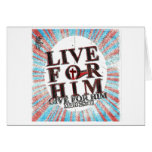 Live for Jesus Greeting Card