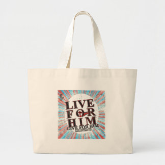Live for Jesus Tote Bags