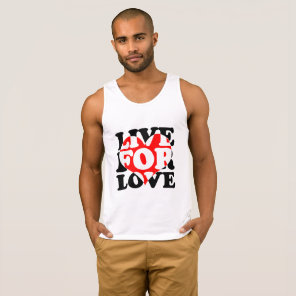 LIVE FOR LOVE TANK TOP