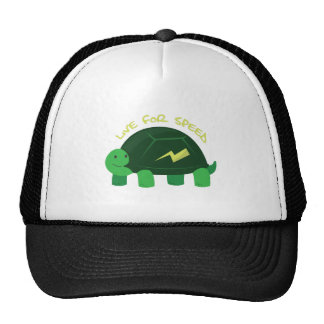 Live For Speed Trucker Hat