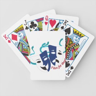 Live For Theater Poker Cards