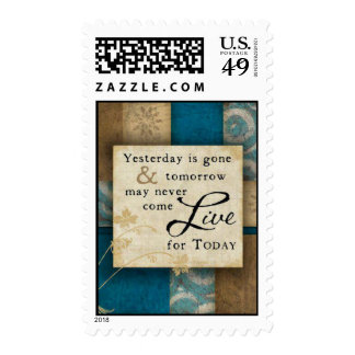Live for Today Stamp