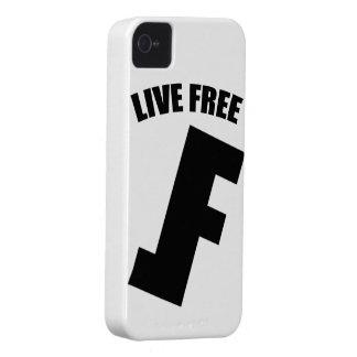 Live Free iPhone Case iPhone 4 Case-Mate Case