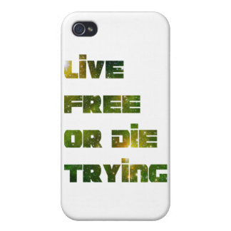 Live Free iPhone 4 Covers