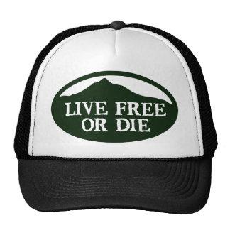 Live Free Monadnock Mesh Hat