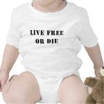 Live Free Or Die Bodysuits